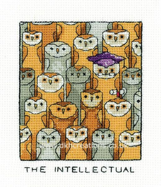 The Intellectual Cross Stitch Kit